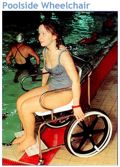 Suntrap Poolside Wheelchair